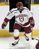Nathan Krusko (Harvard - 13) - The Harvard University Crimson defeated the Providence College Friars 3-0 in their NCAA East regional semi-final on Friday, March 24, 2017, at Dunkin' Donuts Center in Providence, Rhode Island.