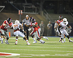 Ole Miss running back I'Tavius Mathers (5) runs vs. Texas at Vaught-Hemingway Stadium in Oxford, Miss. on Saturday, September 15, 2012. Texas won 66-21. Ole Miss falls to 2-1.