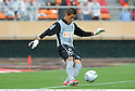 Hitoshi Sogahata (Antlers), APRIL 25th, 2011 - Football : 2011 J.League Division 1 match between Kashima Antlers 0-3 Yokohama Marinos at National Stadium in Tokyo, Japan. The J.League resumed on Saturday 23rd April after a six week enforced break following the March 11th Tohoku Earthquake and Tsunami. All games kicked off in the daytime in order to save electricity and title favourites Kashima Antlers are still unable to use their home stadium which was damaged by the quake. Velgata Sendai, from Miyagi, which was hard hit by the tsunami came from behind for an emotional 2-1 victory away to Kawasaki. (Photo by Takamoto Tokuhara/AFLO).