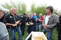 SKUTSJESILEN: HEEG: 04-05-2013, SKS Sprintwedstrijden, ©foto Martin de Jong