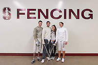 Stanford Fencing Portraits, January 12, 2017