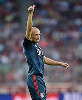 Fussball  International   Audi Cup 2013  Saison 2013/2014   31.07.2013 FC Bayern Muenchen - Sao Paulo FC  Arjen Robben (FC Bayern Muenchen)