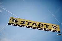 start banner<br /> <br /> 99th (open) Flemish Championships 2014<br /> (&quot;Kampioenschap van Vlaanderen&quot;)