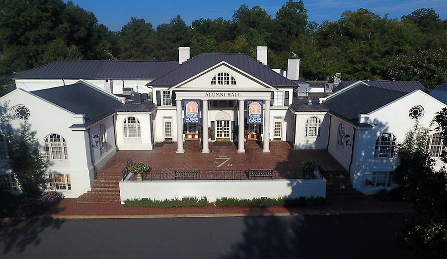 Alumni Hall at the University of Virginia in Charlottesville, Va. Photo/Andrew Shurtleff
