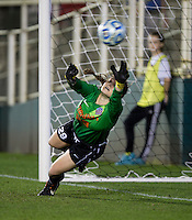 Jessie Ferrari. UCLA advanced on penalty kicks after defeating Virginia, 1-1, in regulation time at the NCAA Women's College Cup semifinals at WakeMed Soccer Park in Cary, NC.