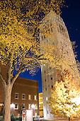 11/2005 Burton Tower at night.