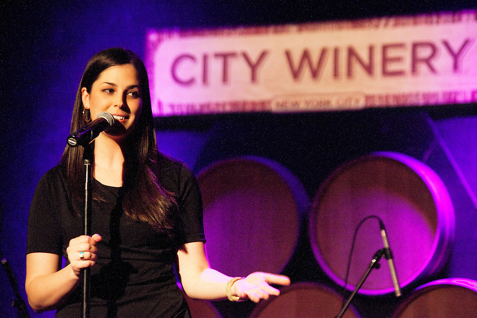 Laura Prnagley - Uncorked Comedy at City Winery - March 22, 2012
