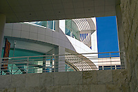 J. Paul Getty Museum,  travertine, shapes and textures