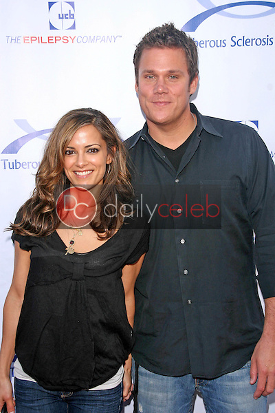 Rebecca Budig and Bob Guiney<br />at the 7th Annual Comedy for a Cure Benefitting the Tuberous Sclerosis Alliance. The Avalon, Hollywood, CA. 04-06-08<br />Dave Edwards/DailyCeleb.com 818-249-4998