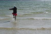 Omey Island tides