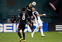 Washington, D.C. - Saturday, April 1, 2017: D.C. United defeated the Philadelphia Union 2-1 in a MLS match at RFK Stadium.