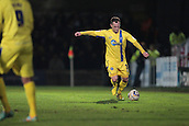 15.01.2013. Torquay, England. Torquay's Kevin Nicholson in action during the League Two game between Torquay United and Exeter City from Plainmoor.