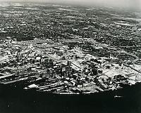 UNDATED..Historical..Aerial view looking Norteast..NEG#.NRHA#..