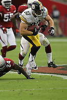 10/23/11 Glendale, AZ: Pittsburgh Steelers tight end Heath Miller #83 during an NFL game played at University of Phoenix Stadium between the Arizona Cardinals and the Pittsburgh Steelers. The Steelers defeated the Cardinals 32-20.