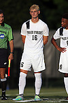 26 August 2016: Wake Forest's Ian Harkes. The Wake Forest University Demon Deacons hosted the Saint Louis University Billikens in a 2016 NCAA Division I Men's Soccer match. SLU won the game 1-0.
