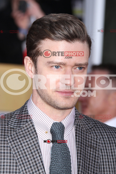 LOS ANGELES, CA - JANUARY 27: Justin Timberlake at The 19th Annual Screen Actors Guild Awards at the Los Angeles Shrine Exposition Center in Los Angeles, California. January 27, 2013. Credit: MediaPunch Inc.