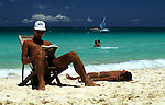 Holiday images Anywhere tropical beach clear blue water lagoons palms people ++