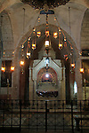 Israel, Jerusalem, the Armenian Orthodox Chapel of St. Helena at the Church of the Holy Sepulchre