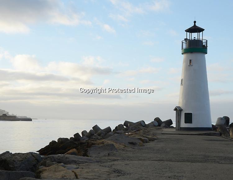 Stock photo of lighthouse