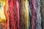 Asia, China, Suzhou. Chinese silk threads.