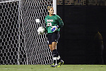 29 September 2011: Virginia's Chantel Jones. The Duke University Blue Devils and the University of Virginia Cavaliers played to a 0-0 tie after overtime at Koskinen Stadium in Durham, North Carolina in an NCAA Division I Women's Soccer game.