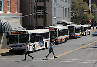 Transportation in Charlottesville, VA.  Credit Image: © Andrew Shurtleff