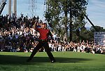 Tiger Woods at the 1998 Nissan Open held at Valencia Country Club in Valencia, California.