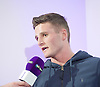 Josh Leather <br /> a Super Lightweight boxer from Yorkshire<br /> <br /> Frank Warren Boxing Promoter and BT Sport Press Conference at BT Tower London Great Britain <br /> <br /> 23rd January 2017 <br /> <br /> Frank Warren introduces Boxers who will be taking part in tournaments during 2017. <br /> <br /> <br /> <br /> Photograph by Elliott Franks <br /> Image licensed to Elliott Franks Photography Services