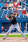 1 March 2017: Miami Marlins outfielder Giancarlo Stanton in Spring Training action against the Houston Astros at the Ballpark of the Palm Beaches in West Palm Beach, Florida. The Marlins defeated the Astros 9-5 in Grapefruit League play. Mandatory Credit: Ed Wolfstein Photo *** RAW (NEF) Image File Available ***