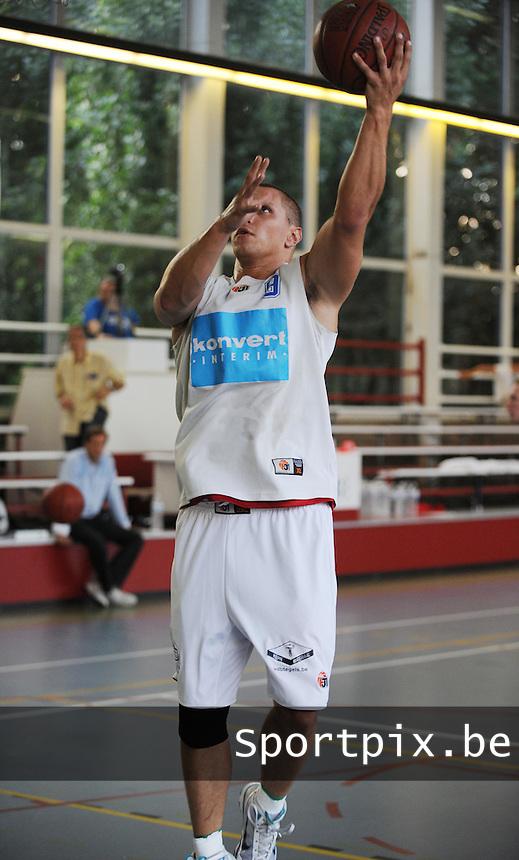 Kortrijk Sport CB Fanion One : Jonathan Fiers.foto VDB / BART VANDENBROUCKE