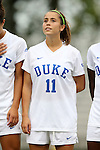 30 August 2015: Duke's Cassie Pecht. The Duke University Blue Devils hosted the William & Mary University Tribe at Koskinen Stadium in Durham, NC in a 2015 NCAA Division I Women's Soccer game. Duke won the game 2-0.