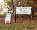 Barboursville Vineyards (and attached restaurant and inn) are easy to find, with prominent signs leading customers in from the largest through-road intersection nearby.