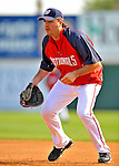 13 March 2008: Washington Nationals' first baseman Nick Johnson warms up prior to a Spring Training game against the Florida Marlins at Space Coast Stadium, in Viera, Florida. The Marlins defeated the Nationals 2-1 in the Grapefruit League matchup...Mandatory Photo Credit: Ed Wolfstein Photo