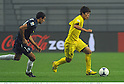 (R-L) Hiroki Sakai (Reysol), Alex Feneridis (Auckland),.DECEMBER 8, 2011 - Football / Soccer :.FIFA Club World Cup Playoff match for Quarterfinals match between Kashiwa Reysol 2-0 Auckland City FC at Toyota Stadium in Aichi, Japan. (Photo by Takamoto Tokuhara/AFLO)