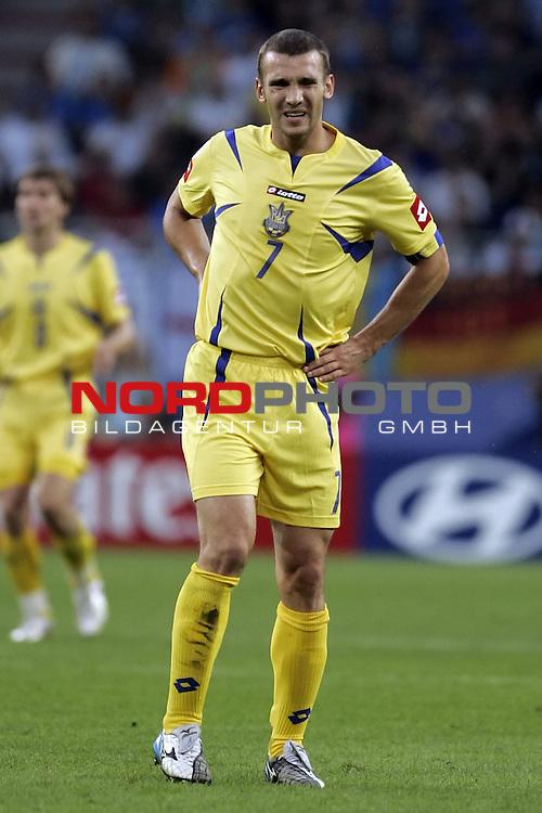 FIFA WM 2006 -  Quarter Final / Viertel Final<br /> Play    #58  (30 - Jun) - Italien - Ukraine<br /> <br /> Enttaeuschung bei SHEVCHENKO Andriy<br /> <br /> Foto &copy; nordphoto