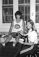 1986: Jill Yanke and Patti Millson.