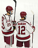 Wiley Sherman (Harvard - 25), John Marino (Harvard - 12) - The Harvard University Crimson defeated the Providence College Friars 3-0 in their NCAA East regional semi-final on Friday, March 24, 2017, at Dunkin' Donuts Center in Providence, Rhode Island.