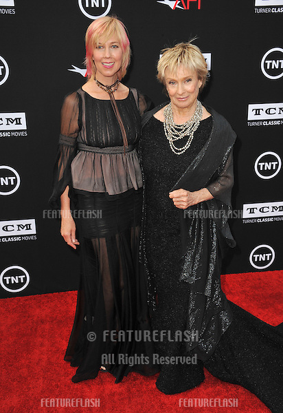 Cloris Leachman &amp; daughter Dinah Englund at the 41st AFI Life Achievement Award honoring Mel Brooks at the Dolby Theatre, Hollywood.<br /> June 6, 2013  Los Angeles, CA<br /> Picture: Paul Smith / Featureflash