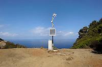Isola di Gorgona. Il faro di Cala Martina..Gorgona island.The lighthouse of Cala Martina.