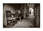 Main floor of the boyhood home of Father Serra, Petra, Mallorca, Spain by Larry Angier.