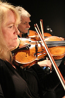 Karin Stevens Dance performing with the Starry Night Chamber Orchestra at The Black Box Theatre at Edmonds Community College.
