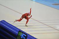 SCHAATSEN: HEERENVEEN: 26-12-2013, IJsstadion Thialf, KNSB Kwalificatie Toernooi (KKT), 1000m, Mayon Kuipers, ©foto Martin de Jong