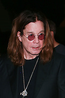 LOS ANGELES, CA, USA - OCTOBER 26: Ozzy Osbourne arrives at An Evening Of Art With Billy Morrison And Joey Feldman Benefiting The Rock Against MS Foundation held at Village Studios on October 26, 2014 in Los Angeles, California. (Photo by David Acosta/Celebrity Monitor)