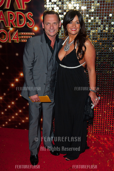 Perry Fenwick arriving for the 2014 British Soap Awards, at the Hackney Empire, London. 24/05/2014 Picture by: Dave Norton / Featureflash
