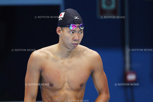 Ippei Watanabe (JPN), <br /> AUGUST 9, 2016 - Swimming : <br /> Men's 200m Breaststroke Heat <br /> at Olympic Aquatics Stadium <br /> during the Rio 2016 Olympic Games in Rio de Janeiro, Brazil. <br /> (Photo by Yohei Osada/AFLO SPORT)