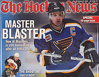2003: Cover Story on Al MacInnis with The Hockey News.  NHL tearsheet
