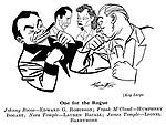 Key Largo ; Edward G Robinson , Humphrey Bogart , Lauren Bacall and Lionel Barrymore