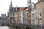 Riverside, Ghent, Belgium, Europe