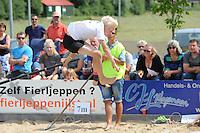 FIERLJEPPEN: IJLST: 01-08-205, Fries Kampioenschap, Rutger Haanstra, ©foto Martin de Jong