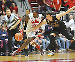 Mississippi's Murphy Holloway (31) is fouled by Missouri's Stefan Jankovic (35) at the C.M. &quot;Tad&quot; Smith Coliseum on Saturday, January 12, 2013. (AP Photo/Oxford Eagle, Bruce Newman)
